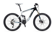 Giant Trance X2 black/white/light blue